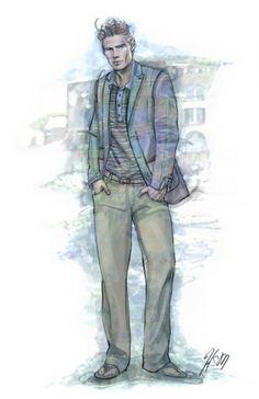 Menswear Blazer Illustration