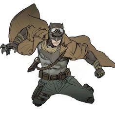Knightmare Batman by Tiago Da Trinti