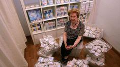Maria Teresa Saperas. Pañales ecológicos para bebés. Colabora como voluntaria desde hace décadas en varias entidades benéficas y un día pensó que los pañales para niños eran demasiado caros. Así que esta reusense