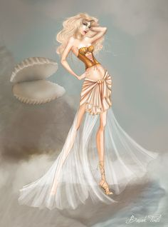 Aphrodite - Ancient Greece Theme Challange by umlimo.deviantart.com on @deviantART
