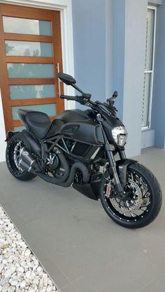 2015 Ducati Diavel termingoni pipes atsa garage