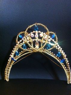 Beautiful tiara made by The Dancer's secret. http://www.facebook.com/TheDancersSecret