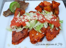 Enchiladas Michoacanas: salsas, preparación