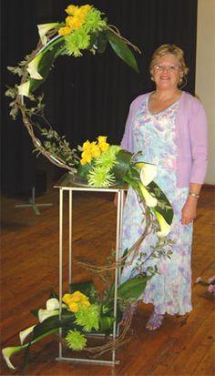 Floral Art Club Durban :: WAFA Seminar - Celtic Journey