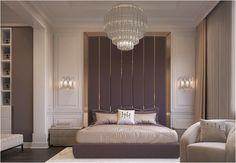 Bedroom design Bedroom design on Behance Luxury Bedroom Design, Bedroom Closet Design, Home Room Design, Bedroom Decor, Interior Design, Modern Classic Bedroom, Modern Master Bedroom, Contemporary Bedroom, Bed Headboard Design
