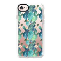 Los cactus - iPhone 7 Case And Cover (690 ARS) ❤ liked on Polyvore featuring accessories, tech accessories, iphone case, iphone cases, iphone cover case, clear iphone case and apple iphone case