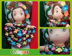 Traje típico de Chiapas - Chiapas regional costume