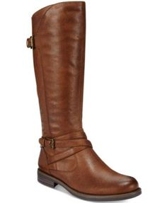 Bare Traps' Corrie riding boots give you of-the-moment appeal with an equestrian influence. Pull them on over leggings or skinny jeans for a fresh modern look. | Fabric or manmade upper; manmade sole