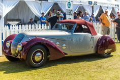 1937 Peugeot Darl'mat cabriolet takes Best in Show at La Jolla Concours d'Elegance