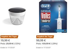 """Amazon: Volks-Zahnbürste Genius für 99,99 Euro frei Haus https://www.discountfan.de/artikel/technik_und_haushalt/amazon-volks-zahnbuerste-genius-fuer-9999-euro-frei-haus.php Mit einem Preisvorteil von über elf Euro ist heute bei Amazon die """"Volks-Zahnbürste Genius"""" von Oral-B zu haben. Das sehr gut bewertete Produkt wird für 99,99 Euro verkauft. Amazon: Volks-Zahnbürste Genius für 99,99 Euro frei Haus (Bild: Amazon.de) Die Volks-Zahnbürste zum... #Zahnb"""