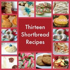 thirteen shortbread recipes to inspire your Christmas baking #gayleamom