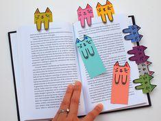 5 marcapáginas originales 5 ideas para hacer marcapáginas originales y divertidos con los niños. Marcapáginas de los Minions, gatitos, erizos, tiburones y otros marcapáginas originales.