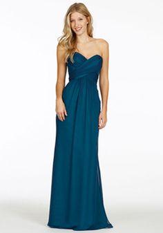 a8737f0f5d1a A line Sweetheart Chiffon Sleeveless Floor Length Bridesmaid Dresses With  Ruching. Jennifer Bostock · Wedding Party Ideas · Bridesmaid Dress Bill  Levkoff ...