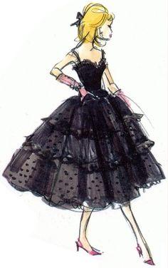 Barbie - Black Enchantment Sketch