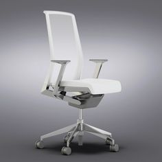 crate barrel - white max - Crate and Barrel - Haworth Very White Task Chair... by Vizmode