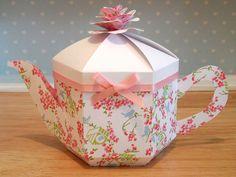 Beautiful Teapot Treats Gift Box