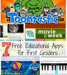 7 Free Educational Apps for First Graders
