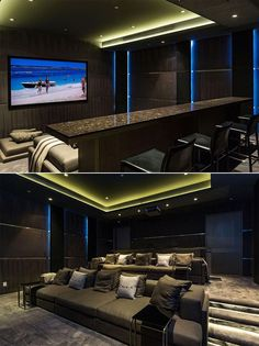 More ideas below: DIY Home theater Decorations Ideas Basement Home theater Rooms Red Home theater Seating Small Home theater Speakers Luxury Home theater Couch Design Cozy Home theater Projector Setup Modern Home theater Lighting System Home Cinema Room, Home Theater Decor, Best Home Theater, Home Theater Rooms, Home Theater Design, Home Theater Seating, Home Theather, Installation Home Cinema, Dream Homes