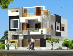 Design Discover All Time Modern House Designs My Life Spot Building Elevation House Elevation Building Exterior Building Design Modern House Plans Dream House Plans Modern House Design House Front Wall Design Single Floor House Design House Front Wall Design, Single Floor House Design, House Outside Design, Small House Design, Modern House Design, Bungalow Haus Design, Duplex House Design, Building Elevation, House Elevation