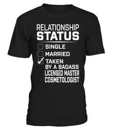 Licensed Master Cosmetologist - Relationship Status