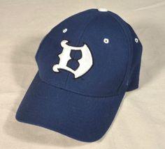 Duke University Blue Devils Zephyr The Z Hat Fitted Cap Size 7 1/8  #Zephyr #DukeBlueDevils
