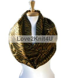 Infinity Scarf Fashion Scarf Shabby Chic Boho Circle Tribal Hipster Loop Infinity Scarf Shawl Unisex by Love2Style4UFashion (formerly Love2Knit4U). Click this PIN to visit Love2Style4UFashion website for more unique selection of beautiful, original, and handmade in USA with Love fashion for Men, Women and Teens, $18.00