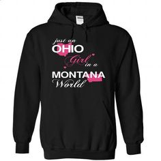 ustHong002-007-Montana GIRL - #country sweatshirt #sweater for fall. CHECK PRICE => https://www.sunfrog.com/Camping/1-Black-79416914-Hoodie.html?68278