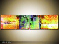 Abstraktní obrazy | Čtyřdílný 160x40 cm | TopObrazy.cz Night, Artwork, Painting, Work Of Art, Auguste Rodin Artwork, Painting Art, Artworks, Paintings, Painted Canvas
