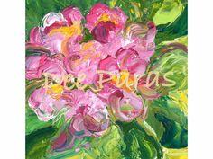 Pink African Violets  *Dee Paras~Etsy.com