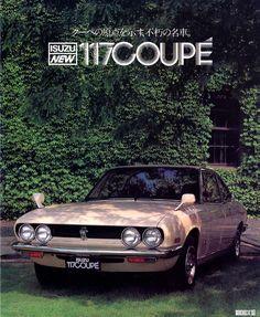 Isuzu 117 Coupé by Ghia - 7 Japanese Classics Styled In Italy - Petrolicious Auto Retro, Retro Cars, Classic Japanese Cars, Classic Cars, Motorbike Design, Japanese Domestic Market, Car Brochure, Ad Car, Cabriolet