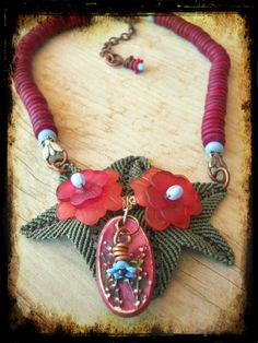 Necklace Nature Challenge by The Beading Yogini