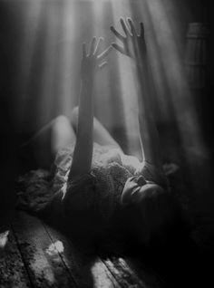 Girl alone dark photography