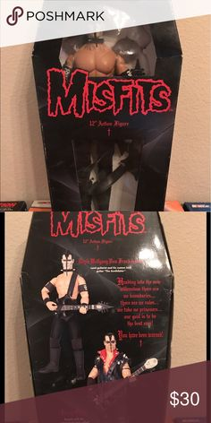 """Misfits Doyle Von Frankenstein 12"""" action figure 1999 21st century toys, inc Doyle von Frankenstein 12"""" action figure. Never been opened! The box is kinda rough around the edges the plastic in front is detached but other than that the doll itself is in great shape! 21st century toys Other"""