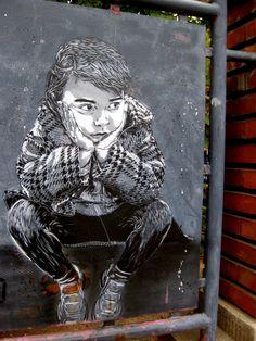 #street art #graffiti I want to do this around SLC.