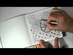 I've had a few requests to demonstrate how I shade my Doodles, Zentangles etc.  I finally sat down and made the video but keep in mind, this is how I do it....there are plenty of tutorials and book...