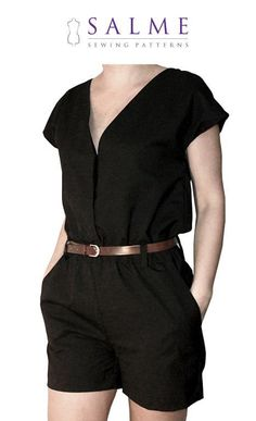 sewing pattern: Playsuit. I remember these being so comfy...
