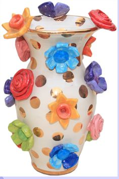 Mary Rose Young large flower vase