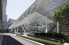 SBA | Oita Prefectural Art Museum Cantilever Architecture, Tectonic Architecture, Aquarium Architecture, Bridges Architecture, Folding Architecture, Factory Architecture, Museum Architecture, Cultural Architecture, Concept Architecture