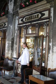 Founded in 1720, Caffe Florian is not only Venice's oldest caffè, but with its glittering neo-Baroque decor and attractive 19th-century wall panels, it's undisputedly the most beautiful.