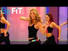 Fat-Burning Cardio Dance Workout: Denise Austin 10min