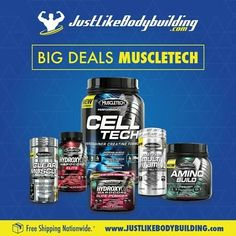 Come check out the Great MUSCLETECH Deals #Bodybuilding #bodybuildingmotivation #bodybuildinglifestyle #bodybuilding_motivation #bodybuildinglife #bodybuildinginspiration #bodybuildingforlife #supplement #supplements #supplementation #supplementstore #sale #health #gymlife #gymmotivation #training #traininghard #trainingday #trainhard #fitness #JLBB #JustLikeBodybuilding #Muscletech