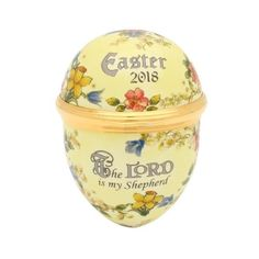 Halcyon Days 2018 Easter Egg Enamel Box ENEG180108G