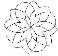 Mandalas Para Pintar: mandalas geometricos