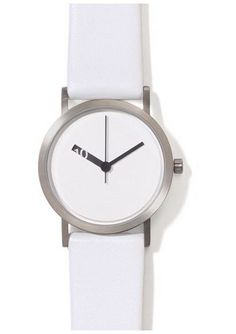 Share and get a 10% off coupon code! (Code = PINKBANANA) Ross McBride: Extra Normal Watch White/White $200