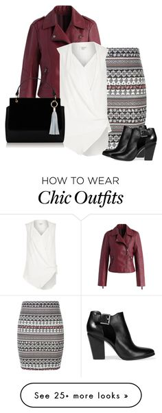 """Untitled #545"" by oxigenio on Polyvore featuring Chicwish, New Look, River Island and MICHAEL Michael Kors"