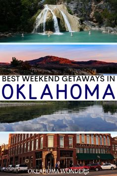 Need the best weekend trips in Oklahoma? From cool cities to state parks to small towns, here's your Oklahoma getaway bucket list! weekend getaways in Oklahoma Romantic Getaways In Oklahoma, Medicine Park Oklahoma, Cool Places To Visit, Places To Go, Oklahoma State University, Oklahoma City, Oklahoma Sooners, Best Weekend Getaways, All I Ever Wanted