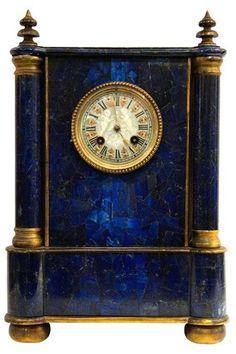 Beautiful Blue Clock