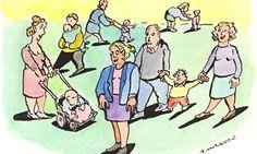 childless woman illustration andrzej krauze
