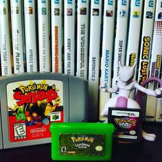 On instagram by house_of_game #retrogaming #microhobbit (o) http://ift.tt/1VfFYfP Pokemon love!! #n64 #nintendo64 #gba #gameboyadvance #gameboy #ds #mewtwo #amiibo #pokemon #nintendolife #igersnintendo #ninstagram #nintendomag #wtfgamersonly #retrogamer  #collection