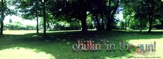 A pano taken while I sat beneath a tree in Coronation Gardens, Sedgley during the lovely Summer we've just had. I made it as a Timeline Header on my Facebook page, which is why it has text on it.